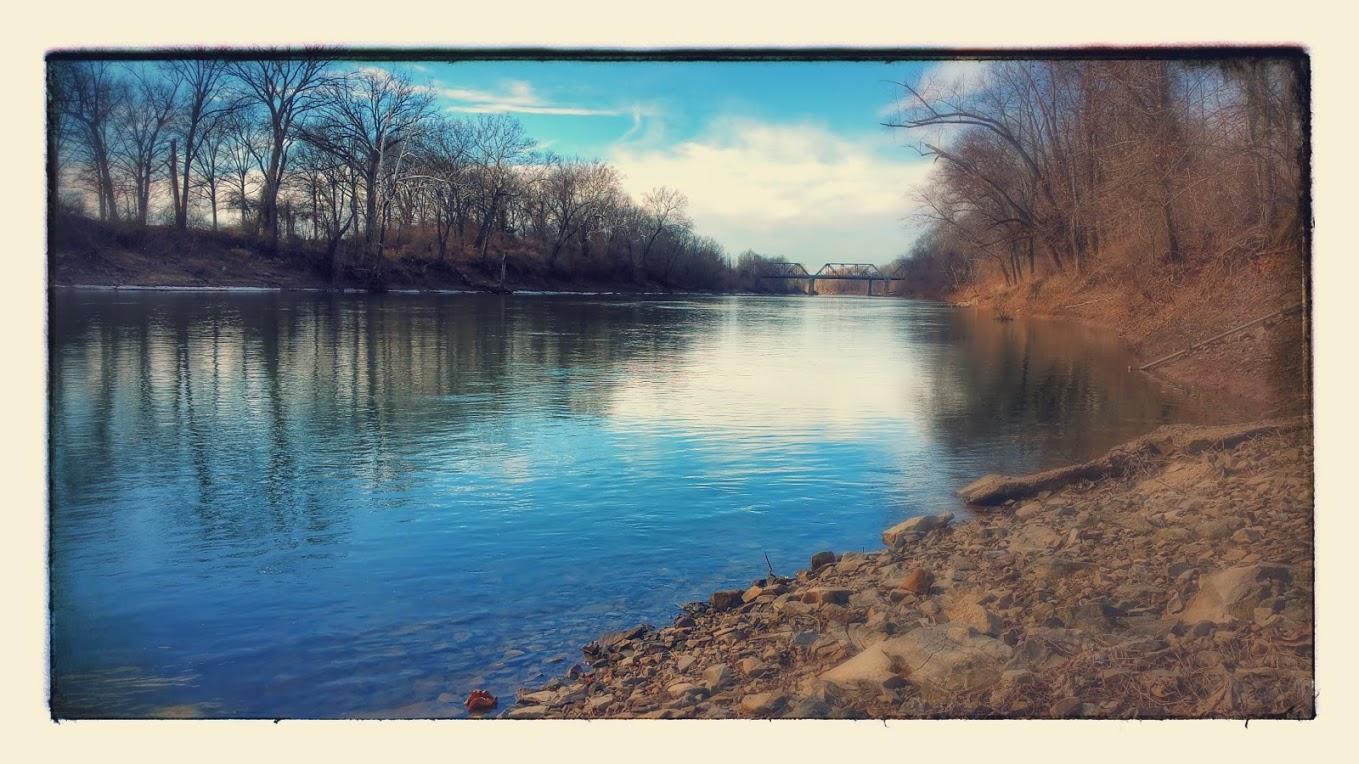 A Walk Along the Meremec River