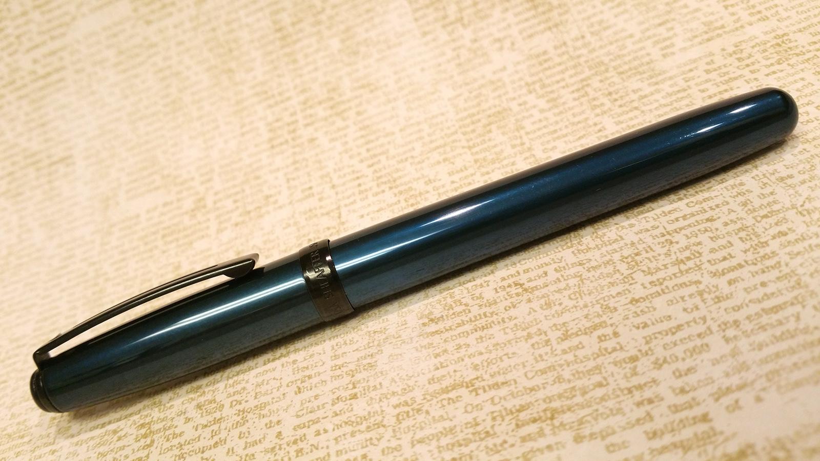 Sheaffer Prelude 380 Fountain Pen in metallic blue