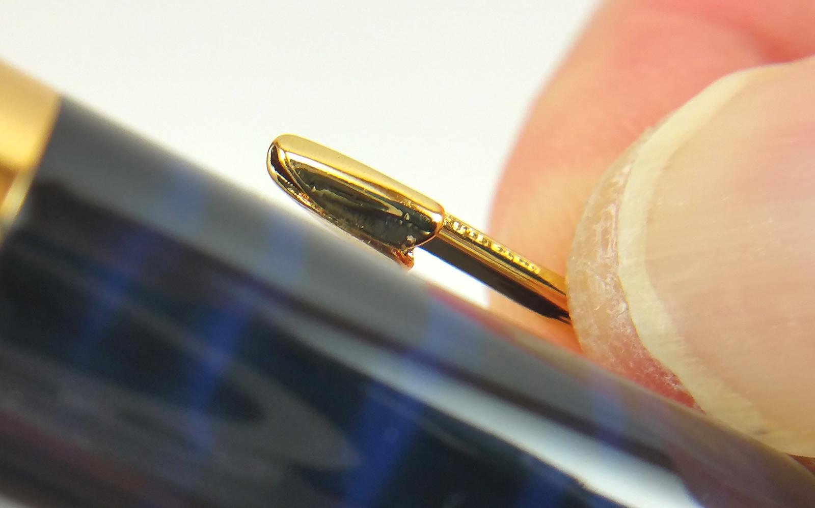 Baoer 388 Fountain Pen Clip Seam
