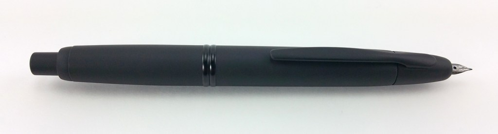 Pilot Vanishing Point Fountain Pen, Nib Extended