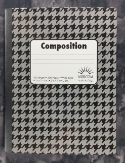 The cover of the Norcom Composition Book from Colombia
