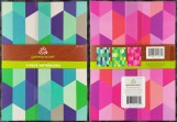 The 3-Pack of Greenroom Recycled Notebooks, in their original packaging