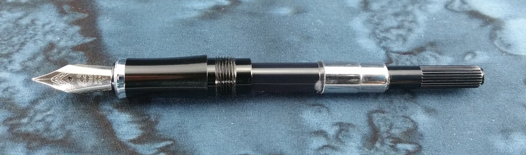 Yongsheng 088 Fountain Pen internals (nib, section, converter)