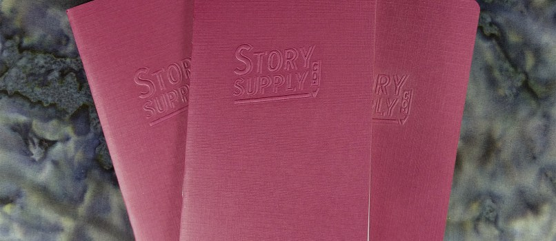 Three Story Supply Co. Pocket Staple Edition 407 notebooks laid out.