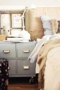 File Cabinet as bed side table