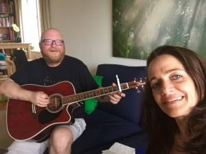 Songwriting team Dave Laroque and Kendall Goddard
