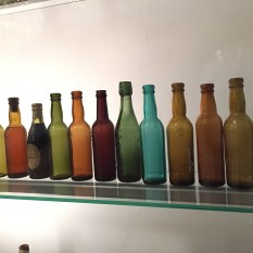 A company's history told in bottles