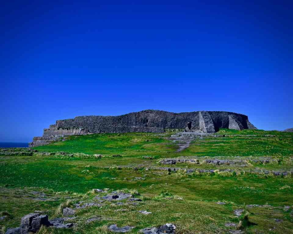 Fortress on Inis Mór, Aran Islands Photo by KendellKreatinos