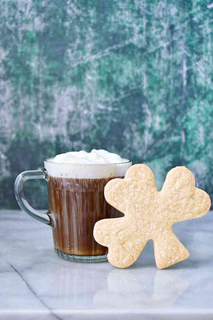 Irish Coffee and Shortbread Cookie