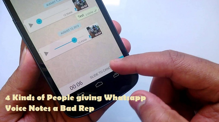 Whatsapp voice notes