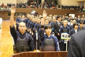3月18日、近畿高等学校選抜大会 松澤選手がこのチームキャプテンを務める