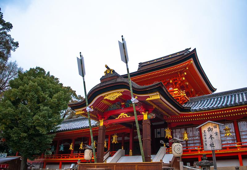 京都・石清水八幡宮