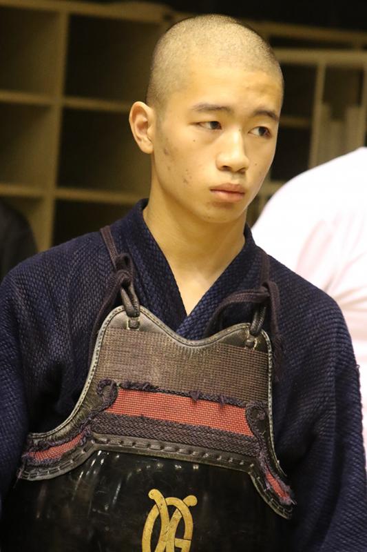 男子個人戦優勝・鮫島雅貴