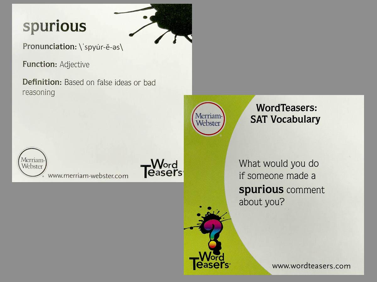 Word Teasers Sat Vocabulary Ov601