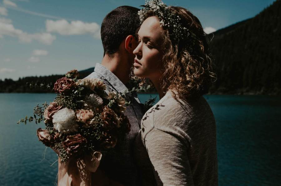 rattlesnake lake, lake, water, washignton, elopement, wedding, married, seattle, weddingphotographer, nature, outdoors, bride, groom, forest, trees, northwest, pnw, pacificnorthwest, ido, lovers, couple, summer, photographer