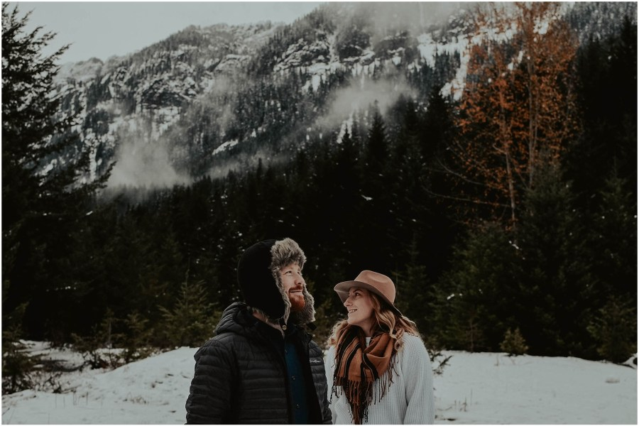 snowy, engagement, engagement-session, engagement-photos, local-photographer, engagement-photographer, washington-photographer, wedding-photographer, elopement-photographer, mountain-engagement, mountain-engagement-session, snow-engagement-photos, mountains, snow, washignton, photographer, photography, outdoor-couple, elopement-photographer, destination-photographer, lake-session, forest-photos,