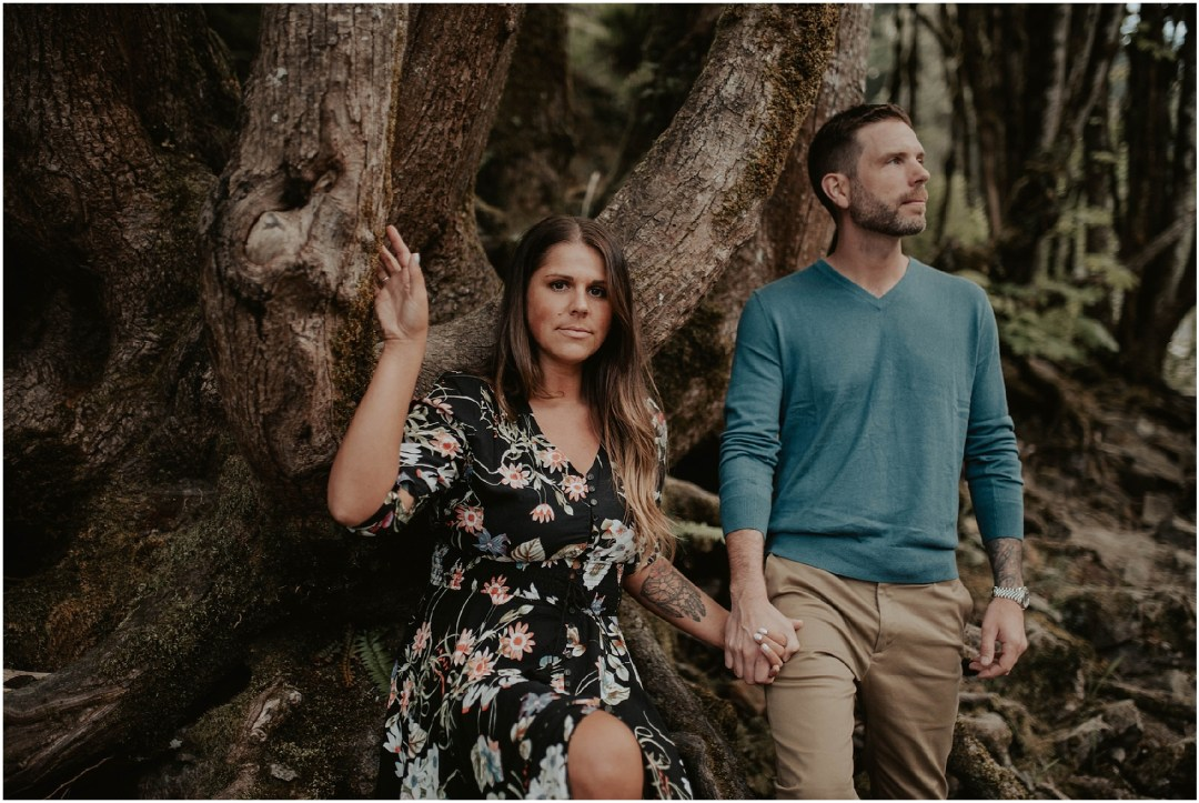 engaged, engagement-photography, engagement-photos, Snoqualmie-Falls, seattle-engagement- seattle-wedding-photographer, Snoqualmie-Falls-Photos, forest-photos, engagement-inspo, Washington-Engagement-Session, Rainier Beer,