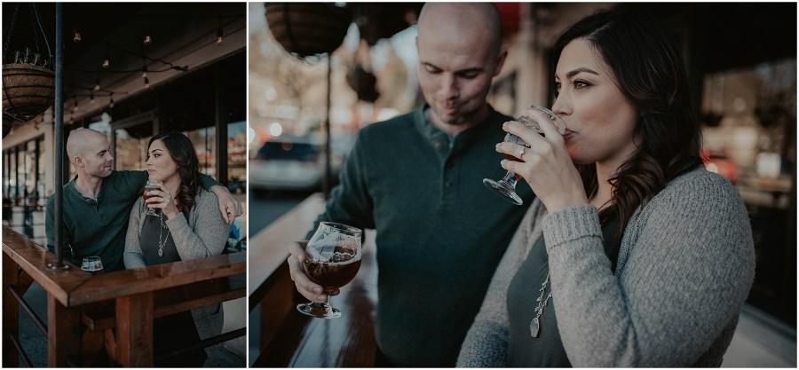 Seward-Park, Seattle-Engagement-photos, Engaged, Engagement-photos, Engagement-Session, Engagement-Photographer, Seattle-Wedding-Photographer, brewery, Seattle-Intimate-Wedding, Seattle-Wedding, Wedding-Photos, Seattle-Wedding-Photos, outdoor-seattle-Wedding, Forest-Wedding, Beer-Engagement, flying-lion, flying-lion-brewery,