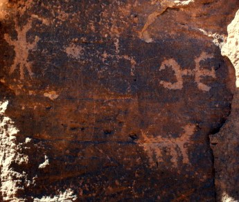 Hopi petroglyphs at the Homolovi ruins (Photo/Kendra Yost)