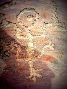 Petroglyph at Lyman Lake in St. John's, Arizona. (Photo/Kendra Yost)