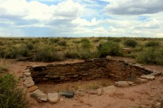 Puerco Pueblo ruin in the Petrified National Monument in Arizona. Photo/Kendra Yost