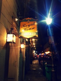 Royal House Oyster Bar in New Orleans. Photo/Kendra Yost