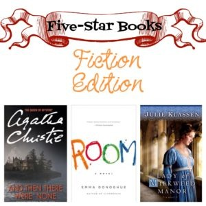 Five-Star Books: Fiction Edition