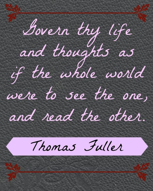 Thomas Fuller Quote