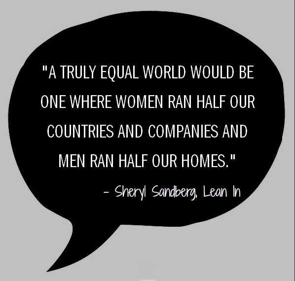 Sheryl Sandberg an Equal World