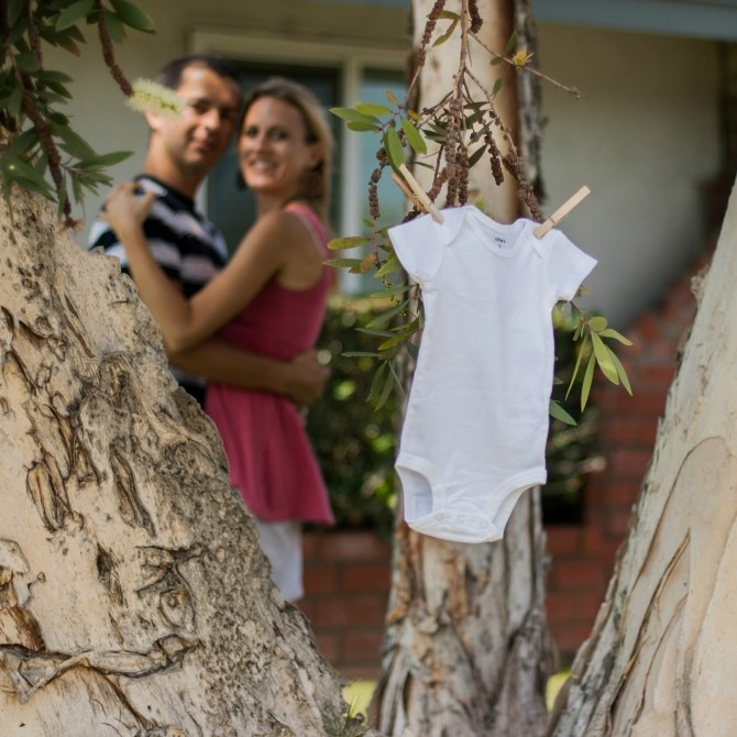 Baby J Onesie in Tree