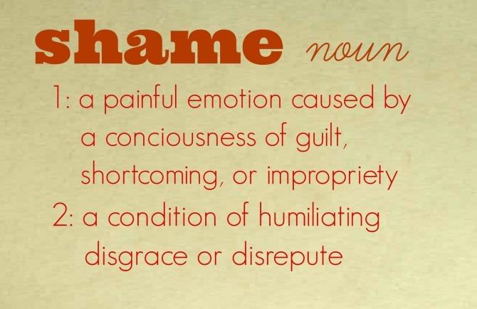 Shame Definition