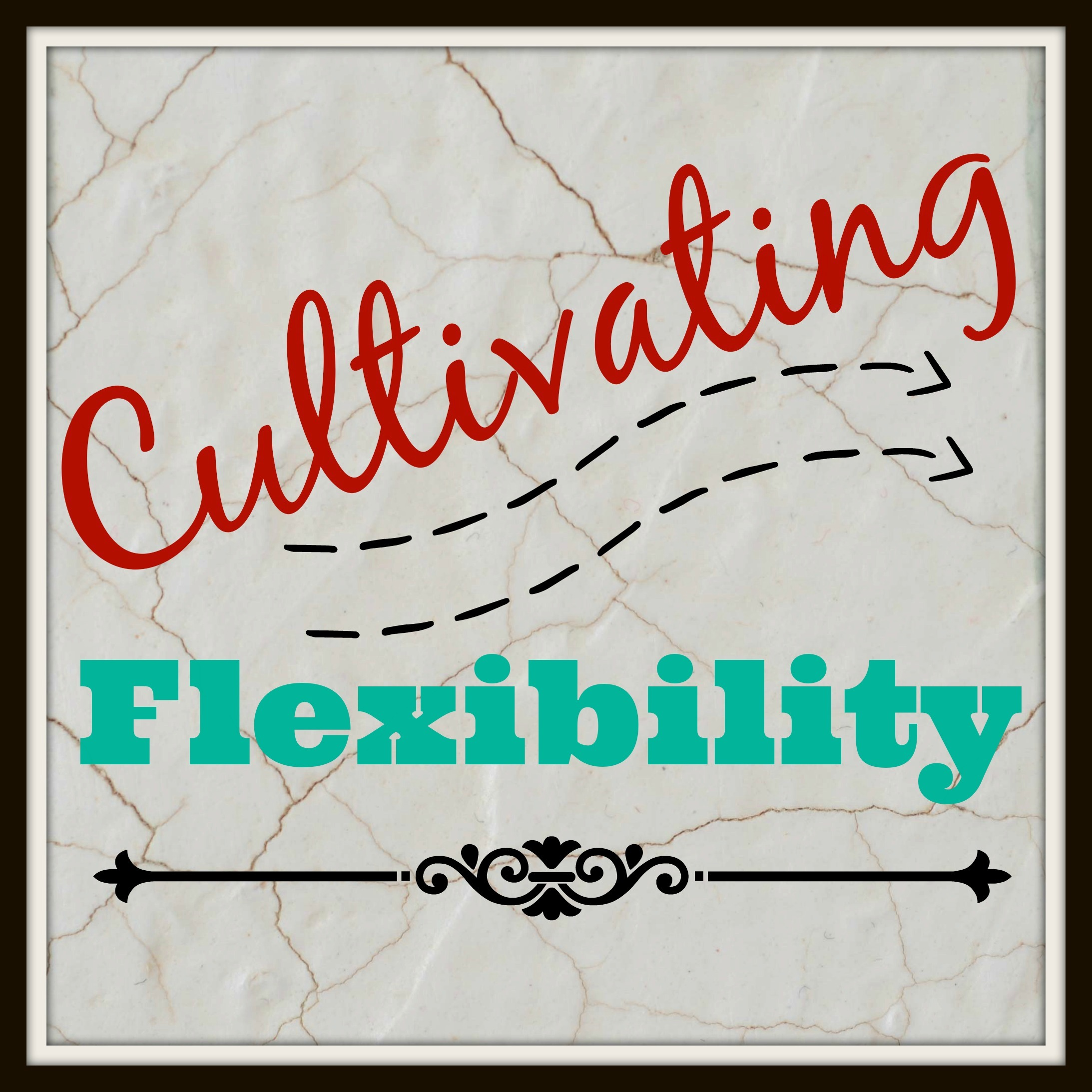 Cultivating Character // Flexibility