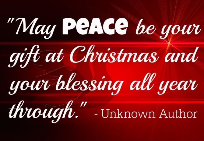 May Peace Be Your Gift