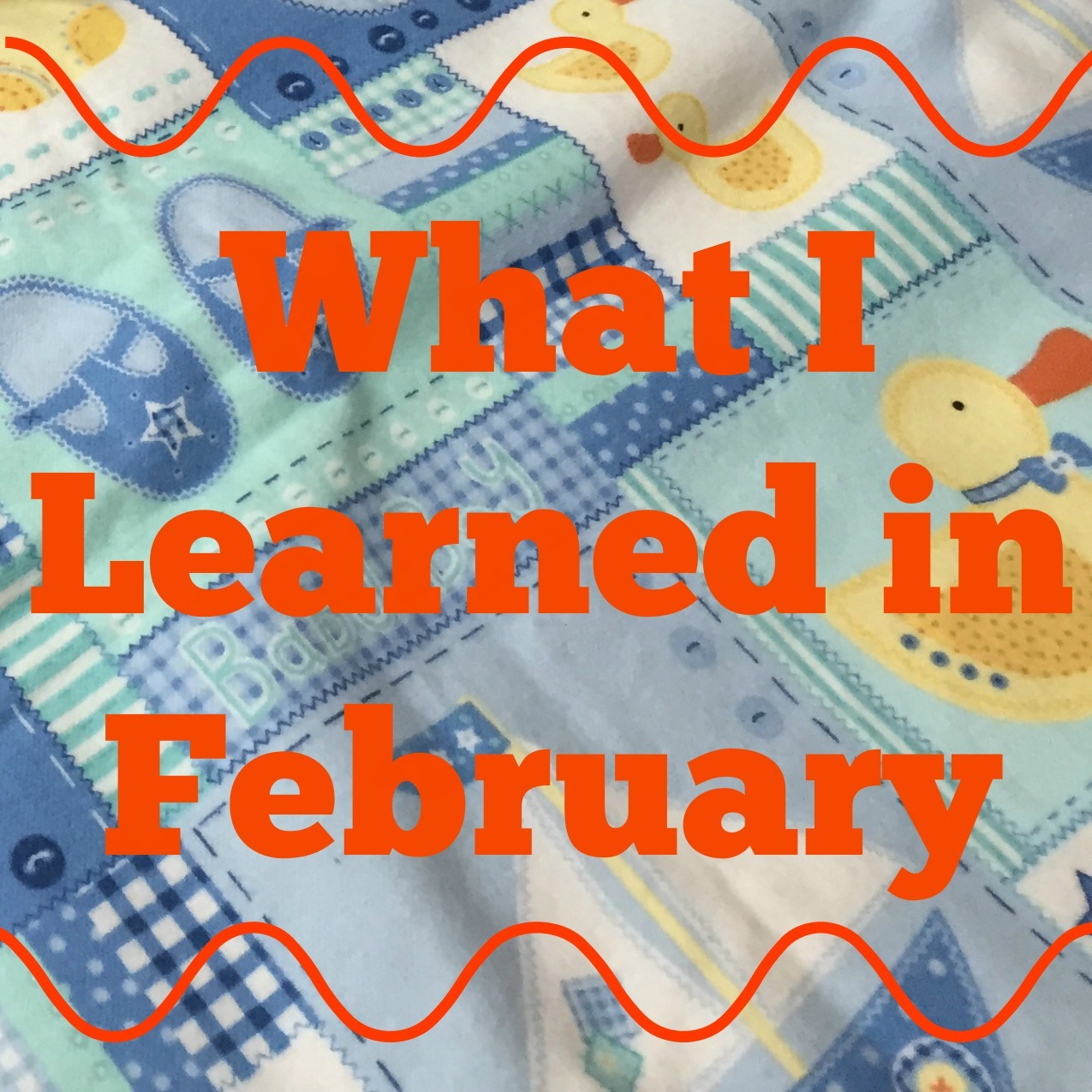 What I Learned in February {2015}