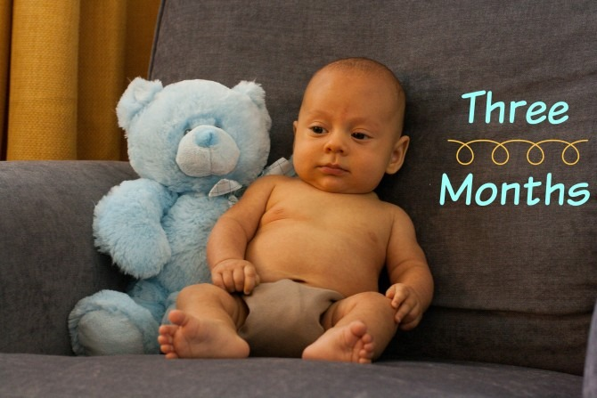 Charllie and Bear 3 Months