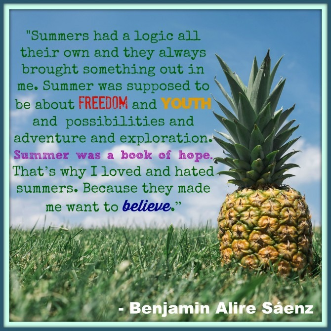 Quote from Benjamin Alire Saenz