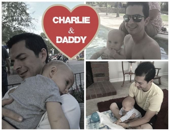 Charlie and Daddy Love