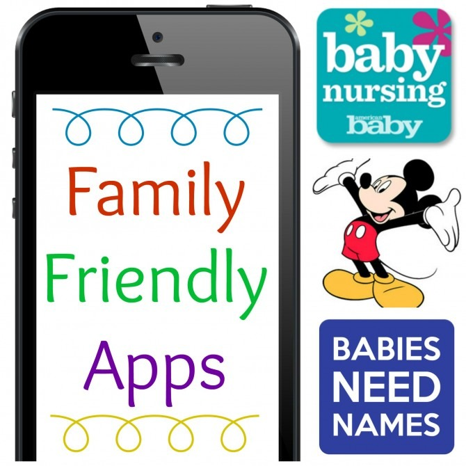 Family Friendly Phone Apps