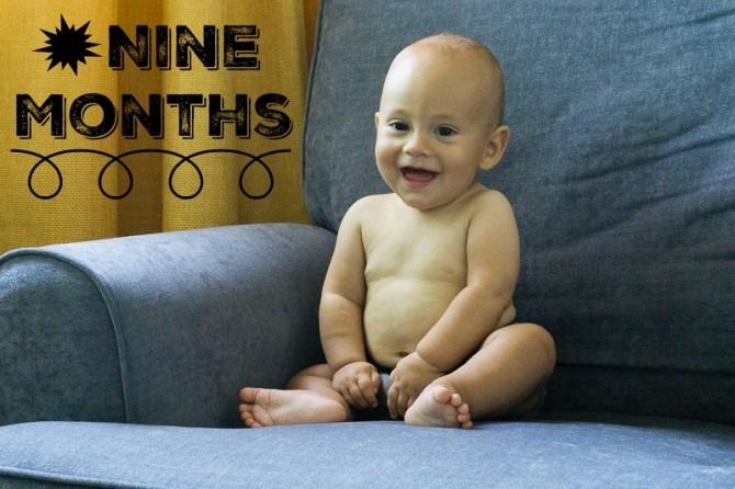 Charlie at Nine Months