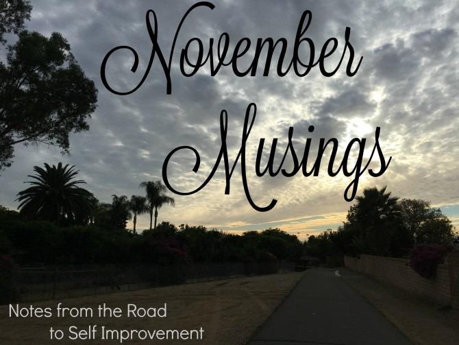 November Musings