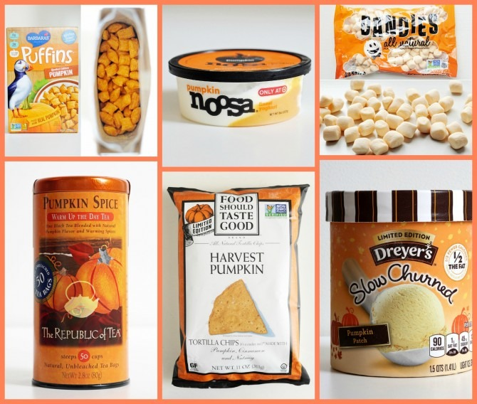 Pumpkin Flavored Products
