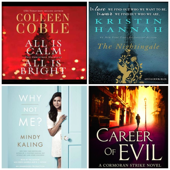Audiobooks December 2015