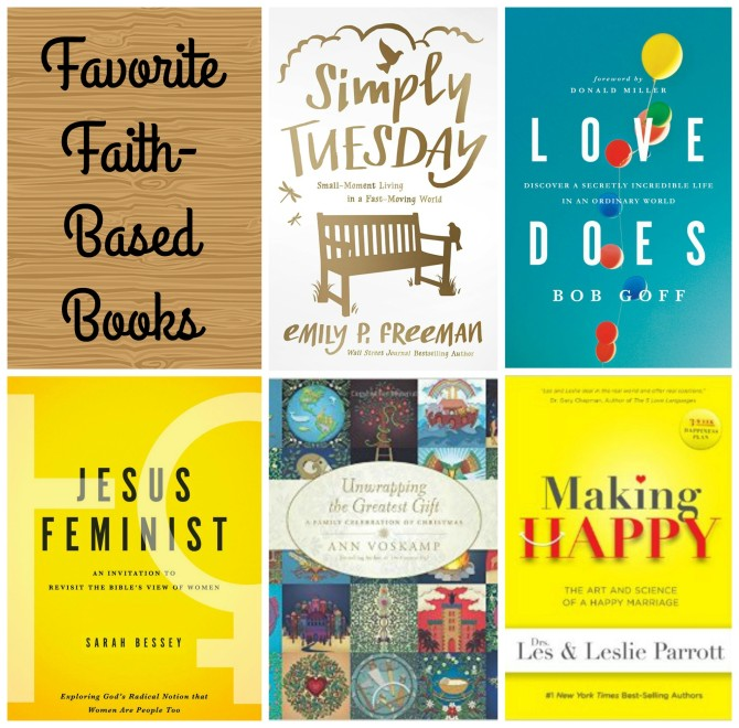 Favorite Faith-Based Books