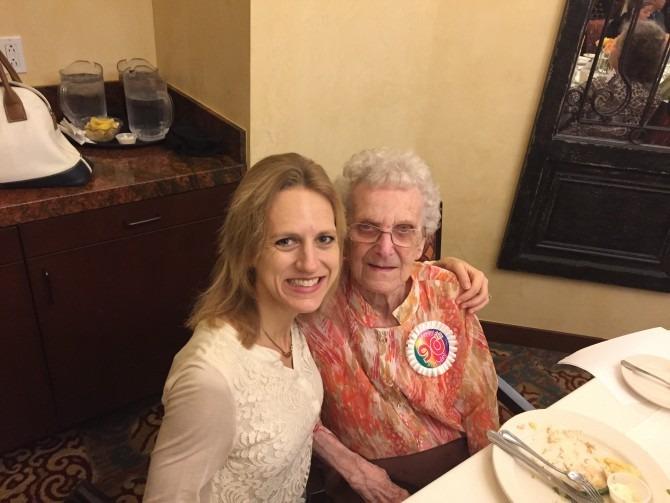 Oma's 90th birthday