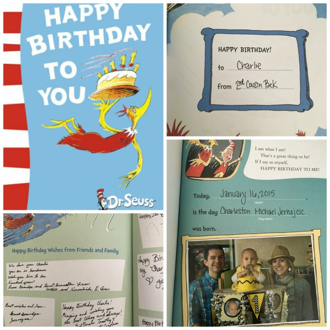 Dr. Seuss Happy Birthday