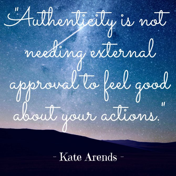 Quotable from Kate Arends