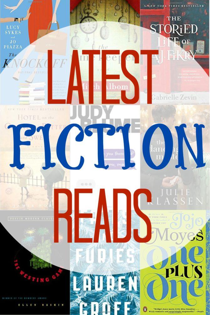 Latest Fiction Reads