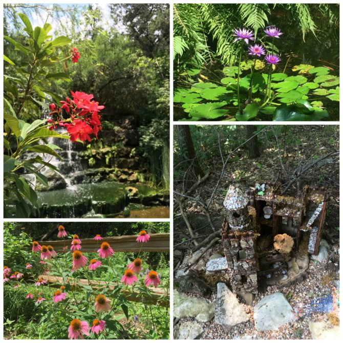 Zilker Botanical Garden Fairy Trail