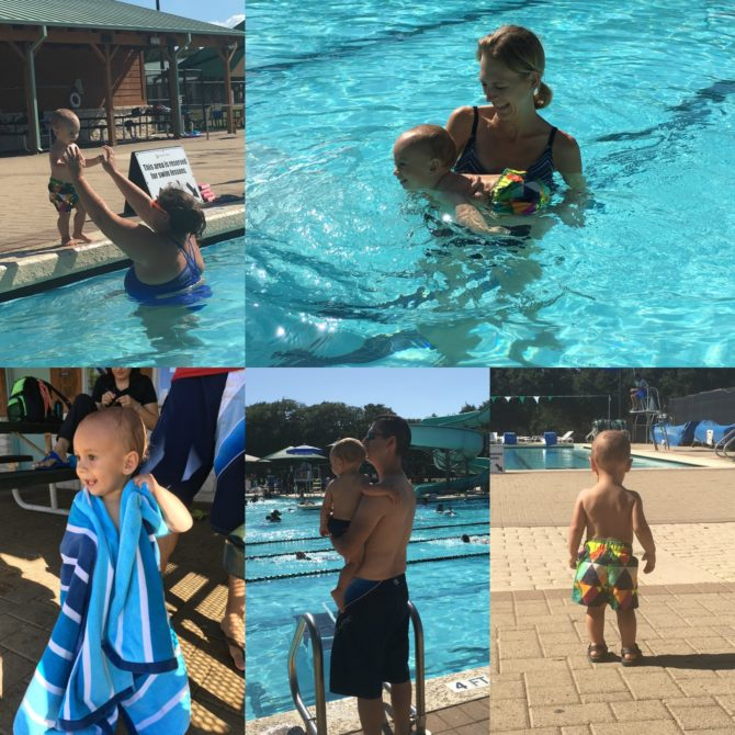 First Swim Lessons