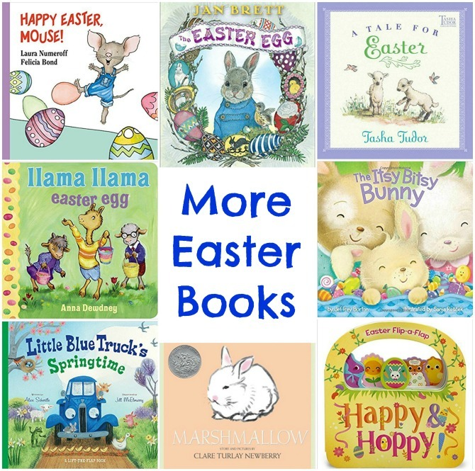 Easter basket filler ideas kendranicole more easter booksgresize670665 negle Choice Image